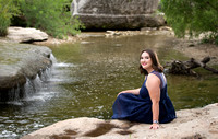 Morgan Lubenow Senior Shoot Bull Creek-35